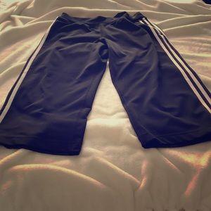 Adidas Yoga/Exercise Capris